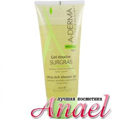 A-Derma Питательный гель для душа без мыла Surgras Ultra-rich Shower Gel Soap-free (200 мл)
