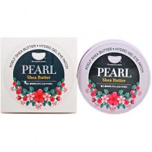 Petitfee Koelf Гидрогелевые патчи для кожи вокруг глаз с жемчугом и маслом ши Pearl & Shea Butter Hydro Gel Eye Patch (60 шт)