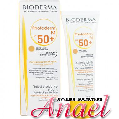 Bioderma Солнцезащитный крем Фотодерм M с тоном и SPF50+ Photoderm M (40 мл)