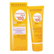 Bioderma Солнцезащитный крем Фотодерм с тоном и максимальным уровнем защиты SPF100 Photoderm Max Creme (40 мл)