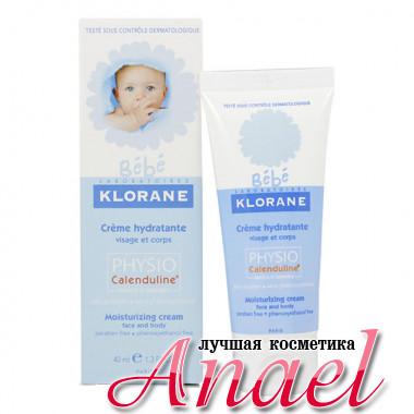 Klorane Увлажняющий детский крем с экстрактом календулы Bebe Physio Calenduline Moisturizing Cream (40 мл)
