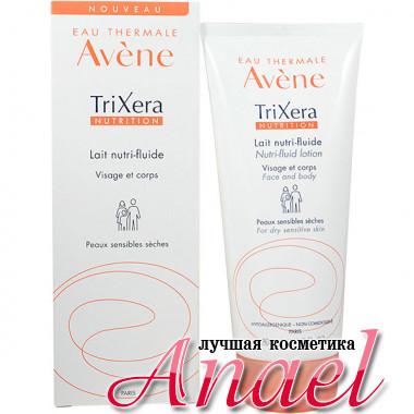 Avene Питательный лосьон Трикзера с отдушкой для сухой, атопичной кожи Trixera Nutrition Nutri-fluid lotion (200 мл)
