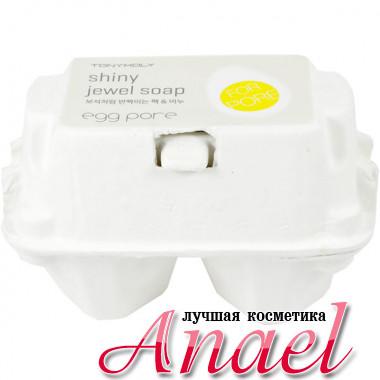 Tonymoly Мыло для очистки пор и сияния кожи Egg Pore Shiny Jewel Soap (2 х 50 гр)