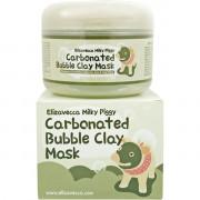 Elizavecca Очищающая глиняно-пузырьковая маска для проблемной кожи Milky Piggy Carbonated Bubble Clay Mask (100 мл)
