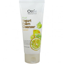 Ottie Фруктово-йогуртовая пенка для умывания с лимоном Fruit Yogurt Foam Cleanser Lemon (150 мл)