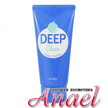 A'Pieu Пенка для глубокой очистки кожи и пор Deep Clean Foam Cleanser (100 мл)