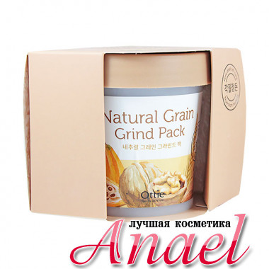 Ottie Питательная зерновая маска-скраб для лица Natural Grain Grind Pack (100 мл)