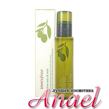 Innisfree Увлажняющий фиксирующий спрей-мист с оливковым маслом Olive Real Oil Mist (80 мл)