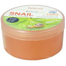 Farm Stay Многофункциональный гель с фильтратом улитки Snail 100% Moisture Soothing Gel (300 мл)