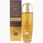 Farm Stay Эссенция с экстрактом королевской улитки и коллоидным золотом для интенсивной подтяжки кожи лица Gold Escargot Noblesse Intensive Lifting Essence (150 мл)