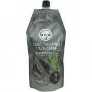 Bosnic Безаммиачная крем-маска для волос с хной и чернилами кальмара Натурально-Коричневая Treatment Color Cream (2x500 мл)