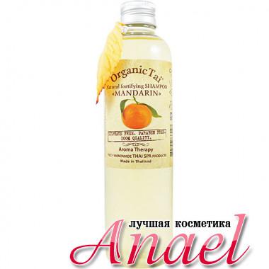 Organic Tai Натуральный укрепляющий шампунь для волос «Мандарин» Natural Fortifuing Shampoo «Mandarin» (260 мл)