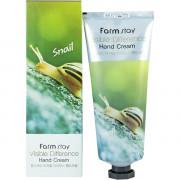 Farm Stay Восстанавливающий крем для рук «Видимая разница» с улиточным муцином Visible Difference Hand Cream Snail (100 мл)