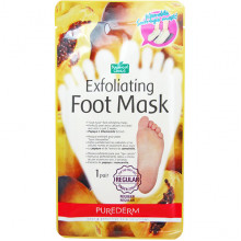 Purederm Носочки-маски для пилинга с экстрактами папайи и ромашки Exfoliating Foot Mask (2 х 20 мл)