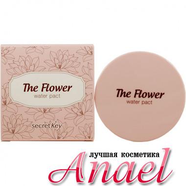 Secret Key Увлажняющая цветочная основа под макияж с фильтром SPF 50+ Тон 1 Светлый беж The Flower Water Pact Light Beige (15 гр)