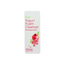 Ottie Пробник фруктово-йогуртовой пенки для умывания с гранатом Fruit Yogurt Foam Cleanser Pomegranate