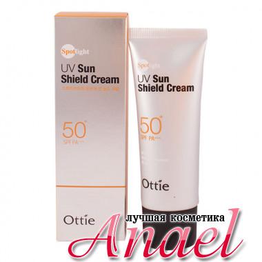 Ottie Солнцезащитный крем Spotlight UV Sun Shield Cream SPF 50+ PA+++ (40 мл)