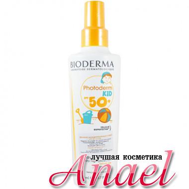 Bioderma Солнцезащитный спрей для детей Фотодерм с высокой степенью защиты SPF 50+ Photoderm Kid  (200 мл)