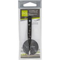 QVS Пинцет для бровей с комбинированными кончиками Combo Tip Tweezers